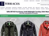 Terracesmenswear.co.uk Coupon Codes