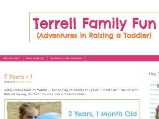 Shop at terrellfamilyfun.com