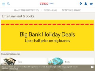 Shop at tescoentertainment.com