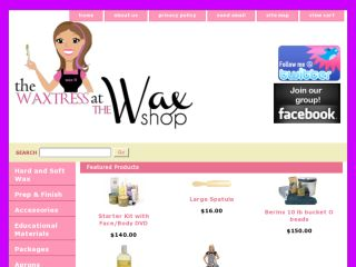 Shop at the-wax-shop.com