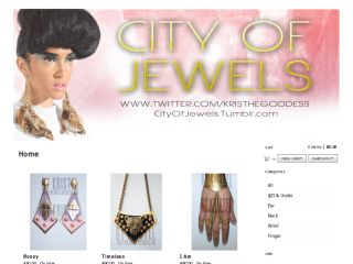 Shop at thecityofjewels.bigcartel.com