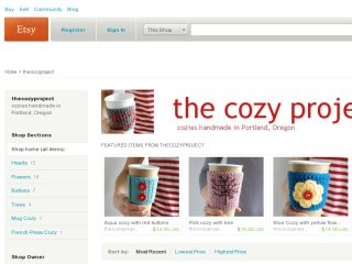 Shop at thecozyproject.etsy.com