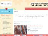 Browse The Heyday Shop