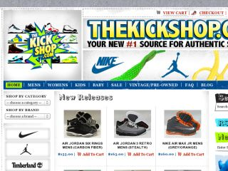 Shop at thekickshop.com