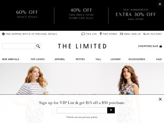 Shop at thelimited.com