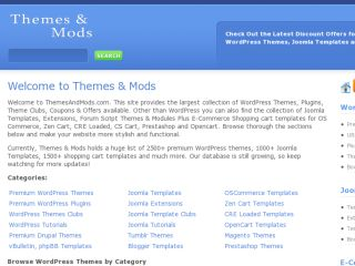 Shop at themesandmods.com