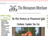 Browse The Monogram Merchant