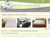 Browse The Natural Sleep Store
