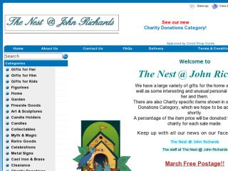 Shop at thenest-at-johnrichards.com