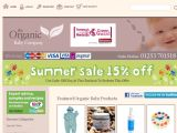 Browse The Organic Baby Company