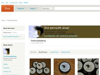 Shop at thepomadeshop.etsy.com