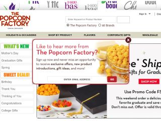 Shop at thepopcornfactory.com