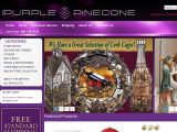 Browse Purple Pinecone
