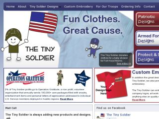 Shop at thetinysoldier.com