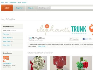 Shop at thetrunkshop.etsy.com
