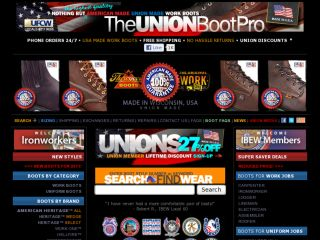 Shop at theunionbootpro.com
