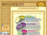Browse The Wick Hut Candle Company