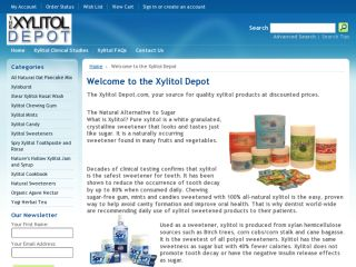 Shop at thexylitoldepot.com
