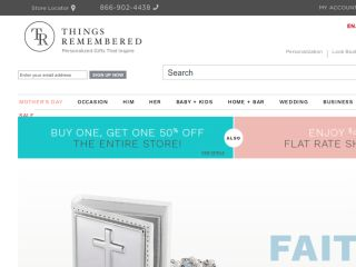 Shop at thingsremembered.com