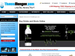 Shop at thirstmonger.com