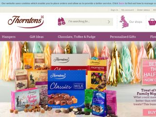 Shop at thorntons.co.uk