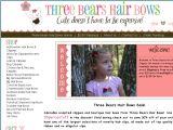 Browse Three Bears Hair Bows