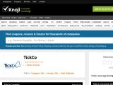 Tickco.knoji.com Coupon Codes