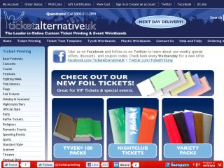 Shop at ticketalternative.co.uk
