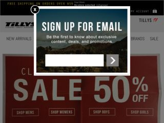 Shop at tillys.com
