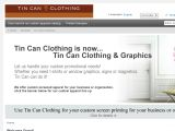 Browse Tin Can Clothing