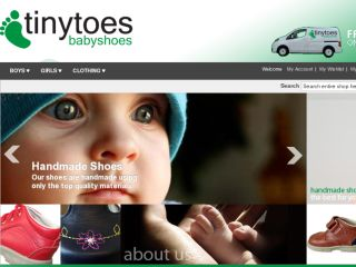Shop at tinytoesbabyshoes.com