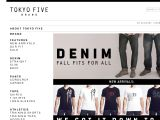 Browse Tokyo Five Brand