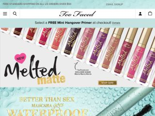 Shop at toofaced.com