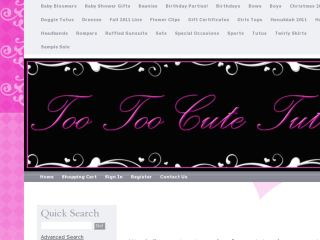 Shop at tootoocutetutus.com