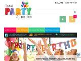 Totalpartysupplies.com.au Coupon Codes
