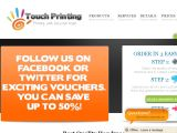 Browse Touch Printing