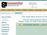 Browse Transaction Publishers
