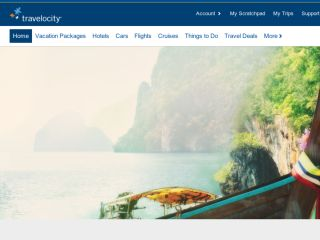 Shop at travelocity.com