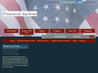 Shop at treasuredauctions.com