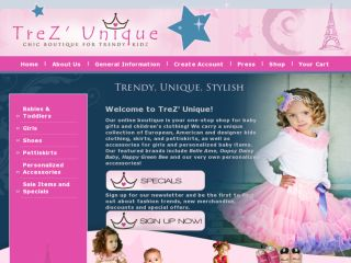 Shop at trezunique.com