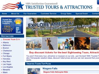 Shop at trustedtours.com