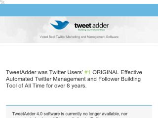 Shop at tweetadder.com