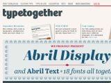 Browse Typetogether
