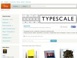 Typescale.etsy.com Coupons