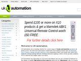 Uk-Automation.co.uk Coupons