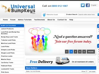 Shop at universalbumpkeys.com