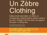 Unzebreclothing.com Coupon Codes