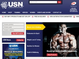 Shop at usn.co.uk