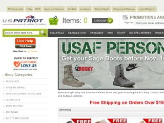 Shop at uspatriottactical.com