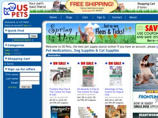 Shop at uspets.com